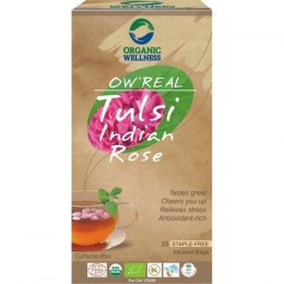 Organic Wellness Herbata Tulsi Indian Rose 25 saszetek
