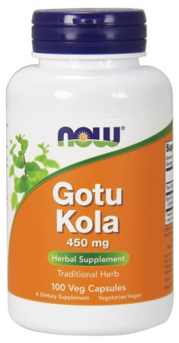 NOW FOODS Gotu Kola 450mg, 100vcaps.
