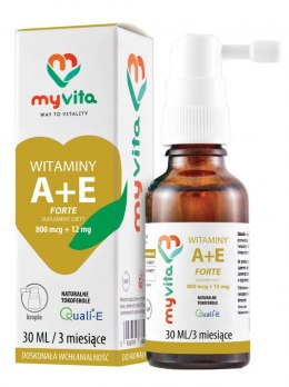 MyVita Witamina A + E w KROPLACH 30ml (800mcg + 12mg)