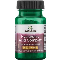 SWANSON Hyaluronic Acid Complex 33mg, 60kaps.