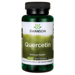 SWANSON Quercetin 475mg, 60vcaps. - Kwercetyna